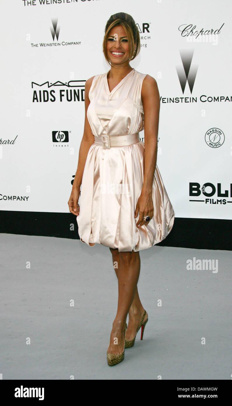 Kubanisch-amerikanischen Schauspielerin Eva Mendes kommt bei der ...