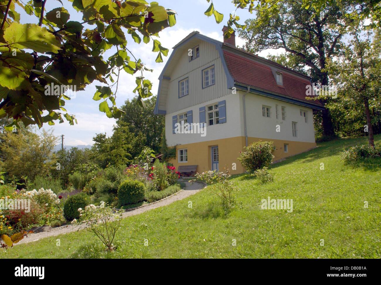 Deutsche Expressionistische Malerin Gabriele Muenter (1877 1962) Kaufte Das  Haus Im Jahre 1908 Und Lebte Dort Mit Ihrem Ersten Partner, Russland  Geborenen ...