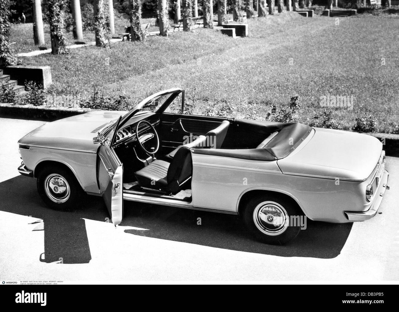 Transport/Verkehr, Autos, Modelle, BMW 1600 Cabriolet, 85 PS, 50s, 50s, Auto, Auto Typ, historisch, historische, Stockbild