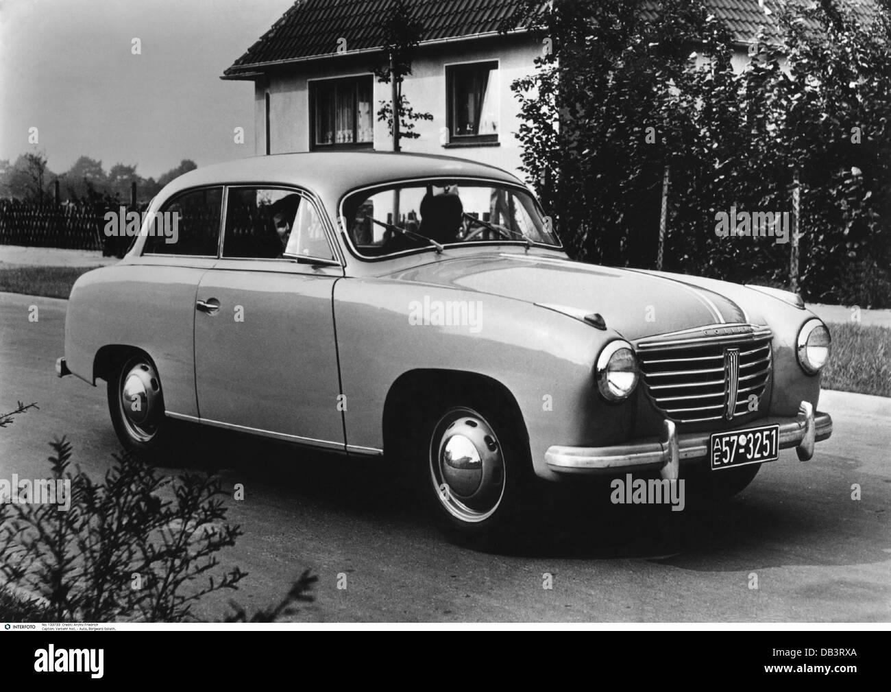 verkehr transport autos modelle borgward goliath 1950er jahre 50er jahre auto auto typ. Black Bedroom Furniture Sets. Home Design Ideas