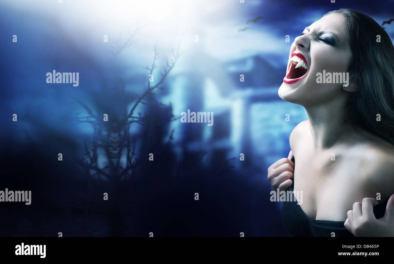 Vampir Stockbild