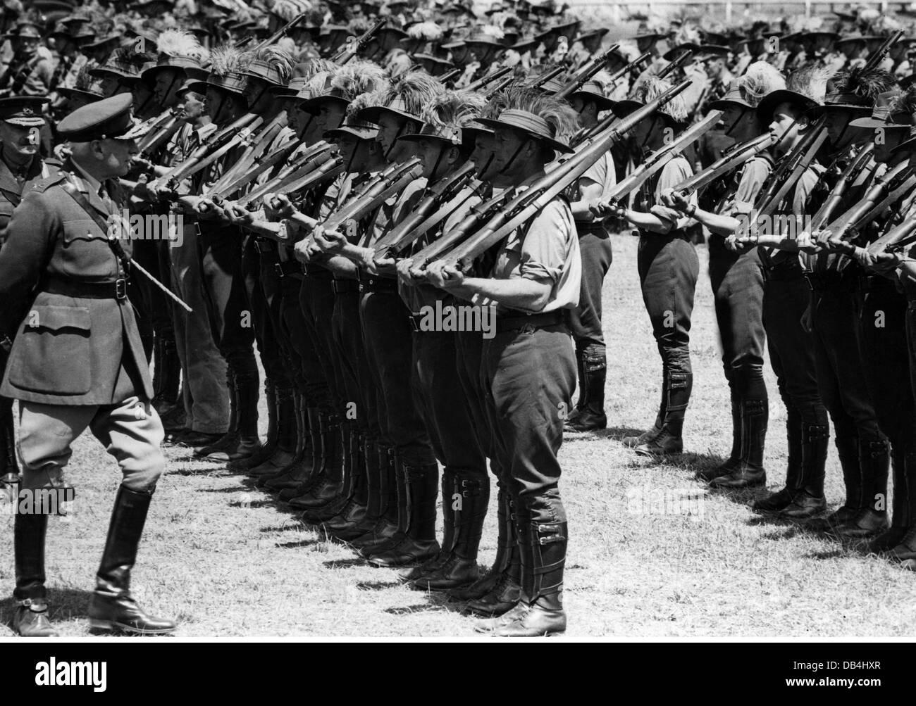 Militär datiert australia