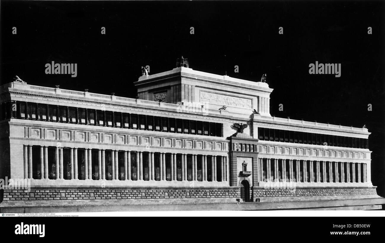 Faschismus nationalsozialismus architektur hauptstadt for Architektur 3 reich