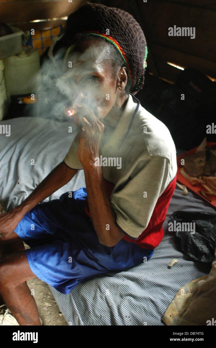 Spliff Rauchen