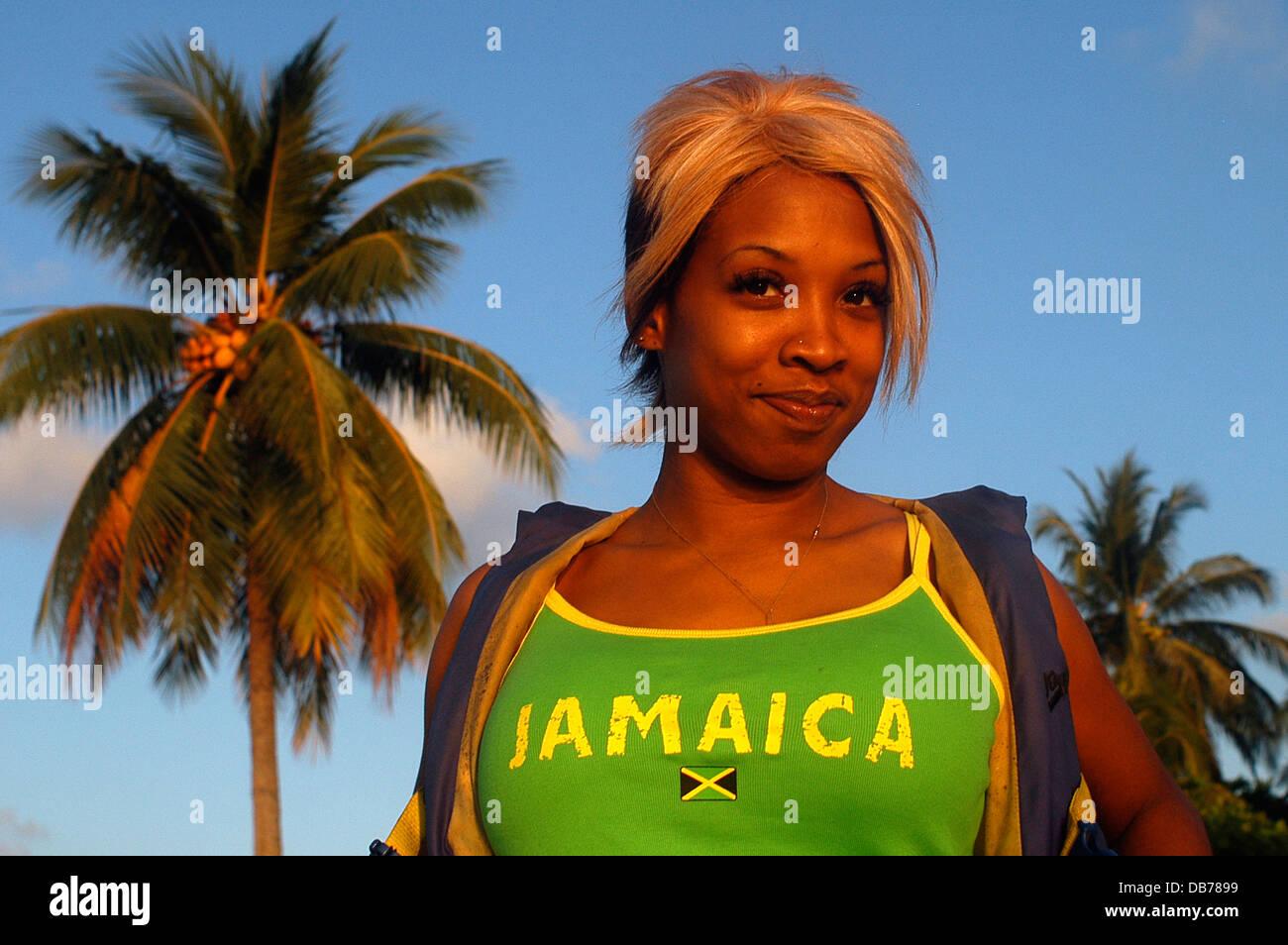 Jamaika-Mädchen