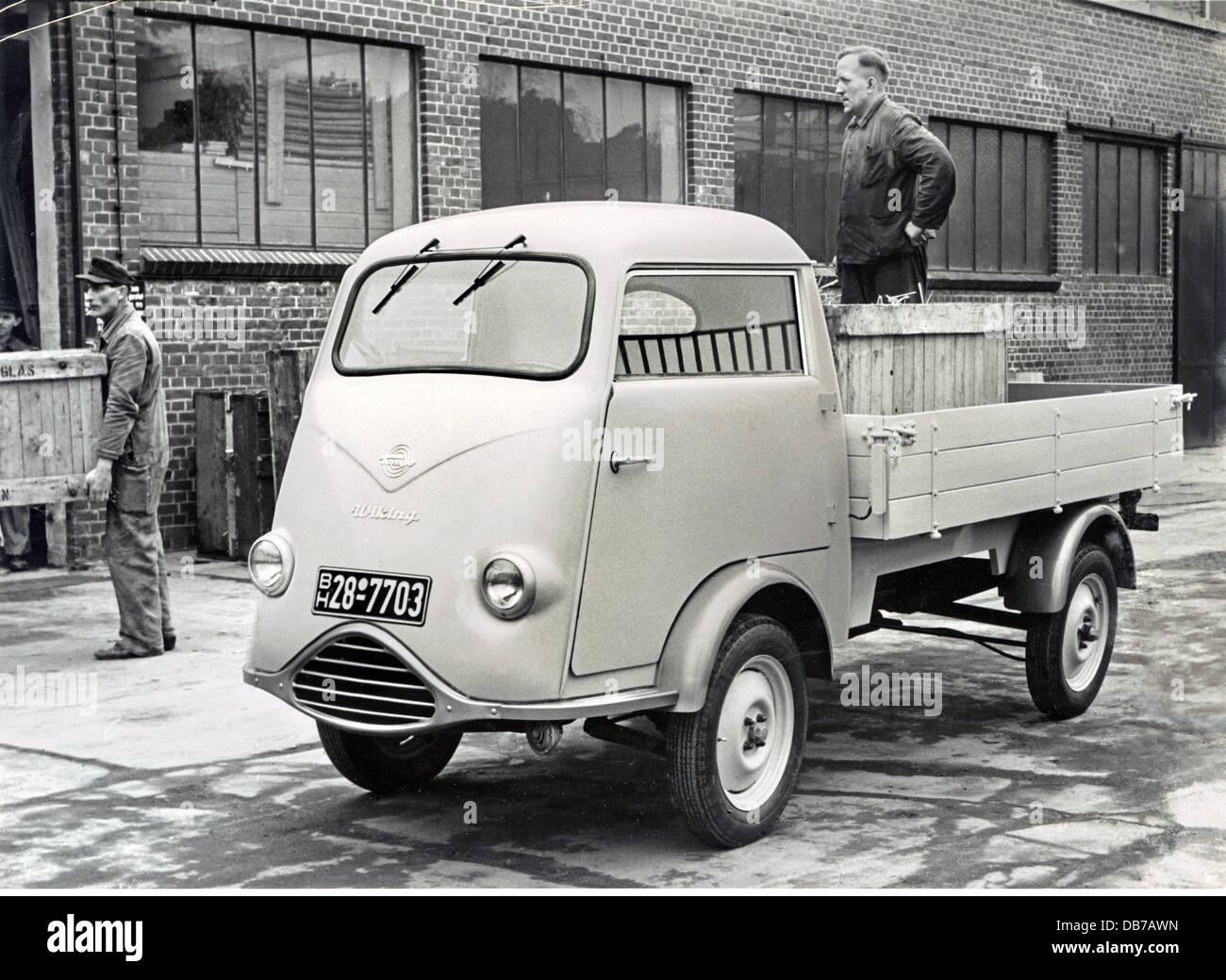 Transport Transport Auto Fahrzeug Varianten Tempo Wiking Pickup ...