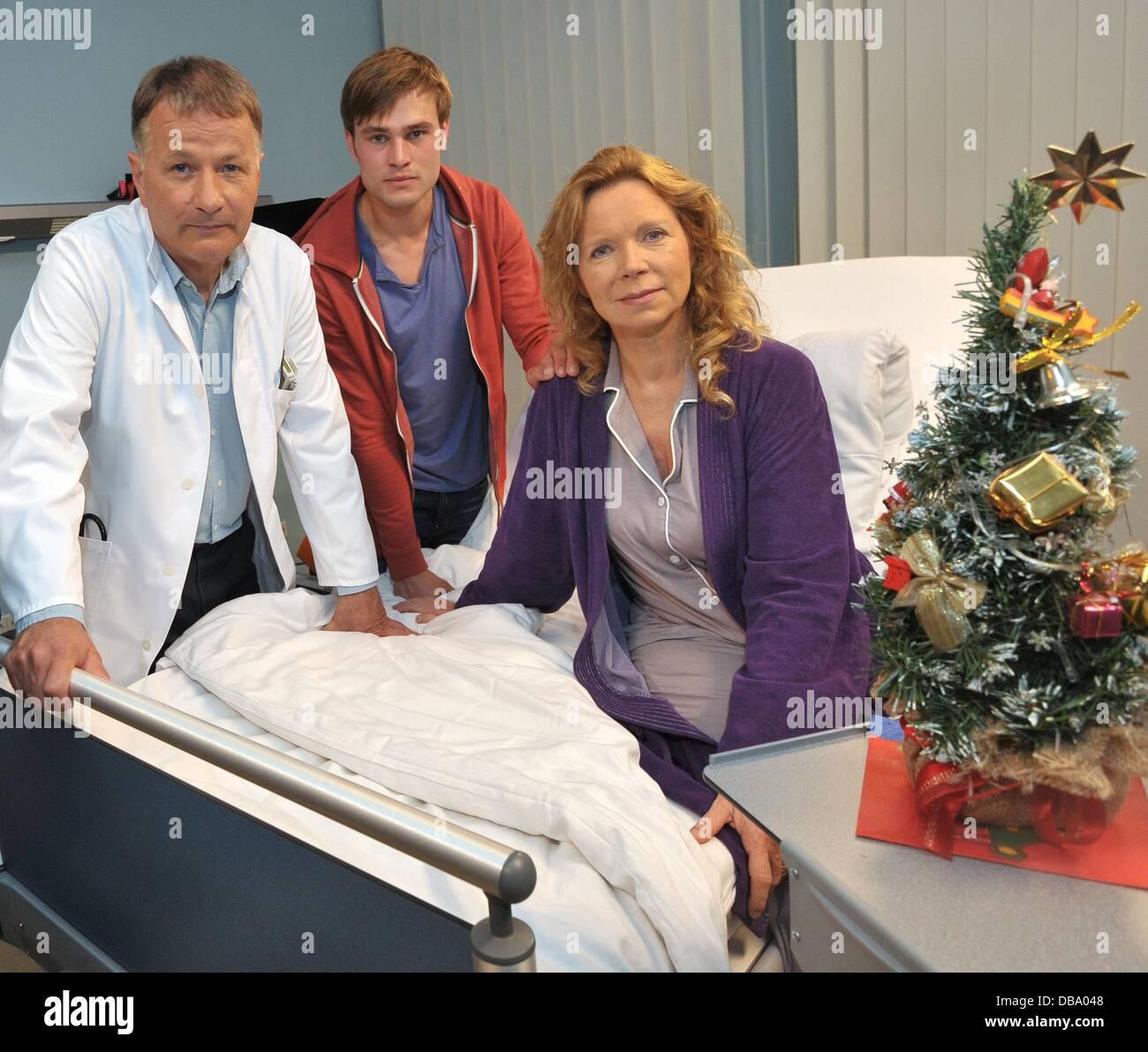 Schauspieler Marion Kracht, Christopher Reinhardt und Thomas ...
