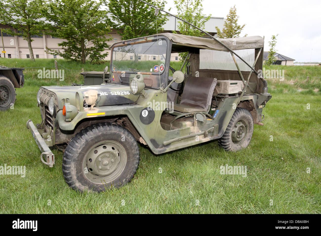 amerikanischen jeep stockfoto bild 58632549 alamy. Black Bedroom Furniture Sets. Home Design Ideas