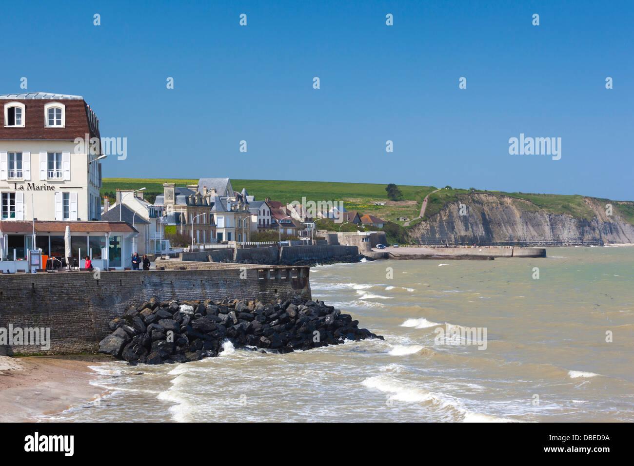 Frankreich Normandie D Day Strände Gegend Arromanches Les Bains