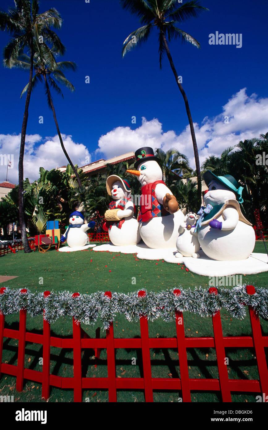 Christmas Decoration Hawaiian Merry Christmas Stockfotos & Christmas ...