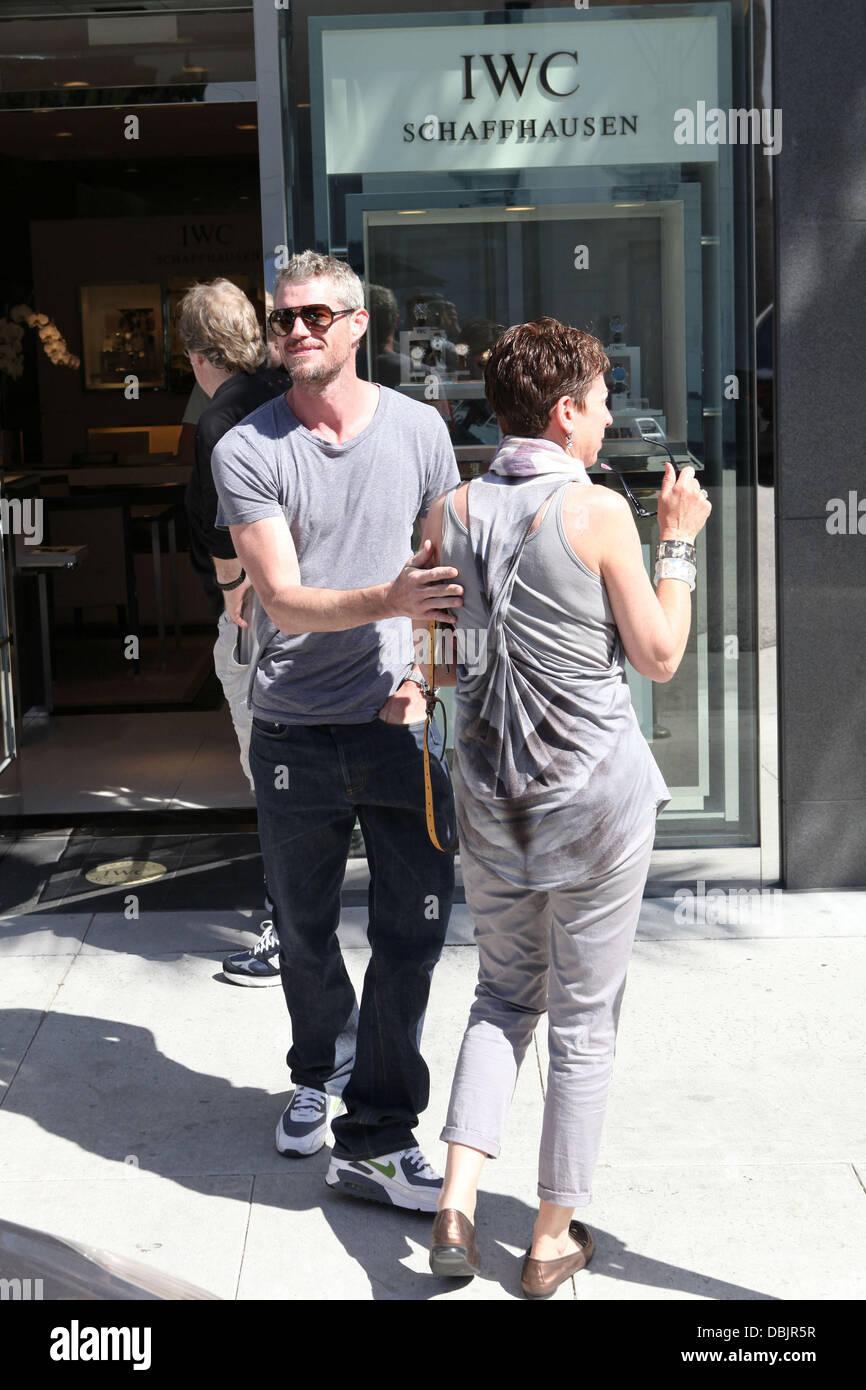 Greys Anatomy Star, Eric Dane, spielt einen Witz auf den wartenden ...