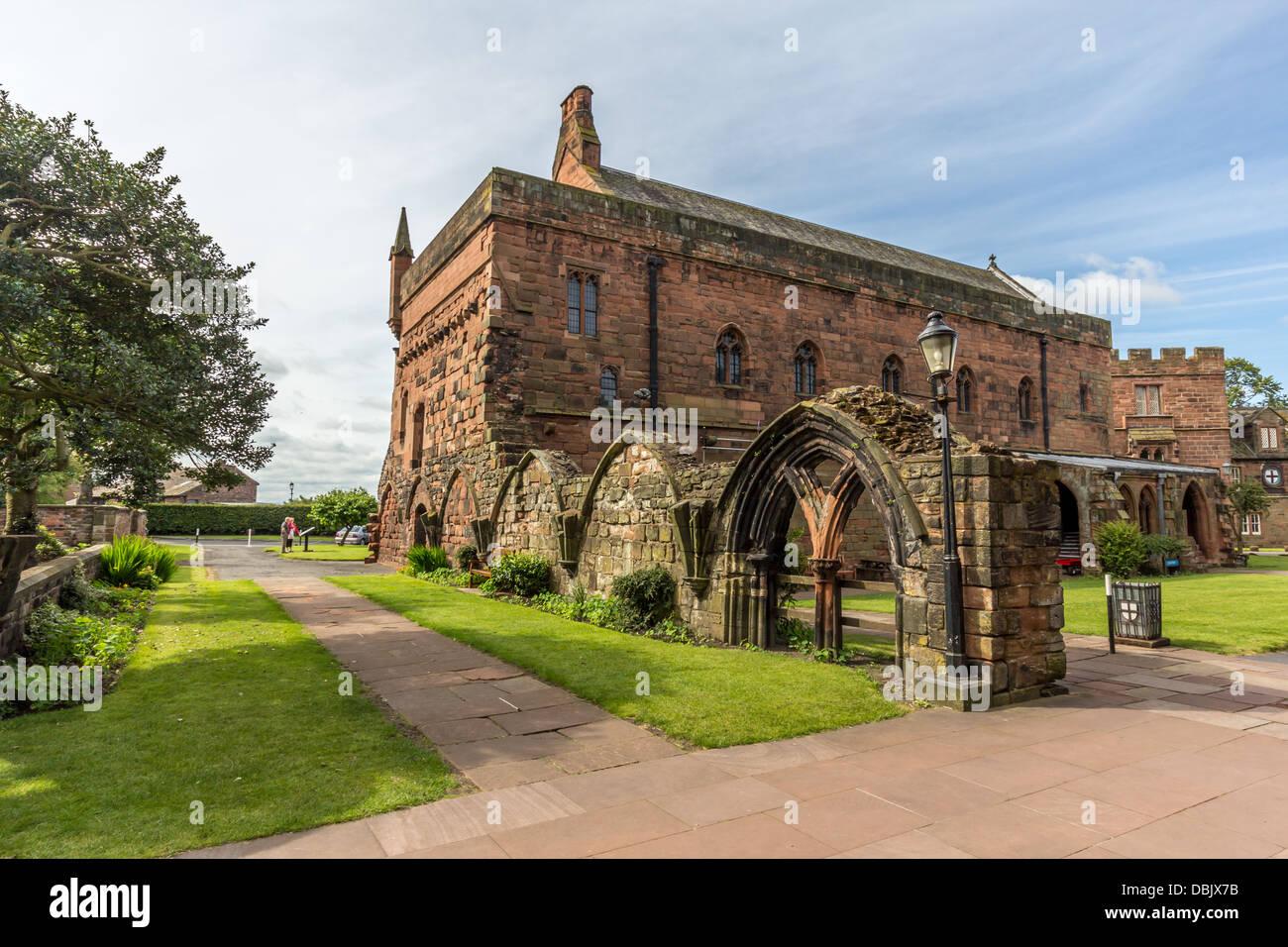 Carlisle Kathedrale Stockfoto