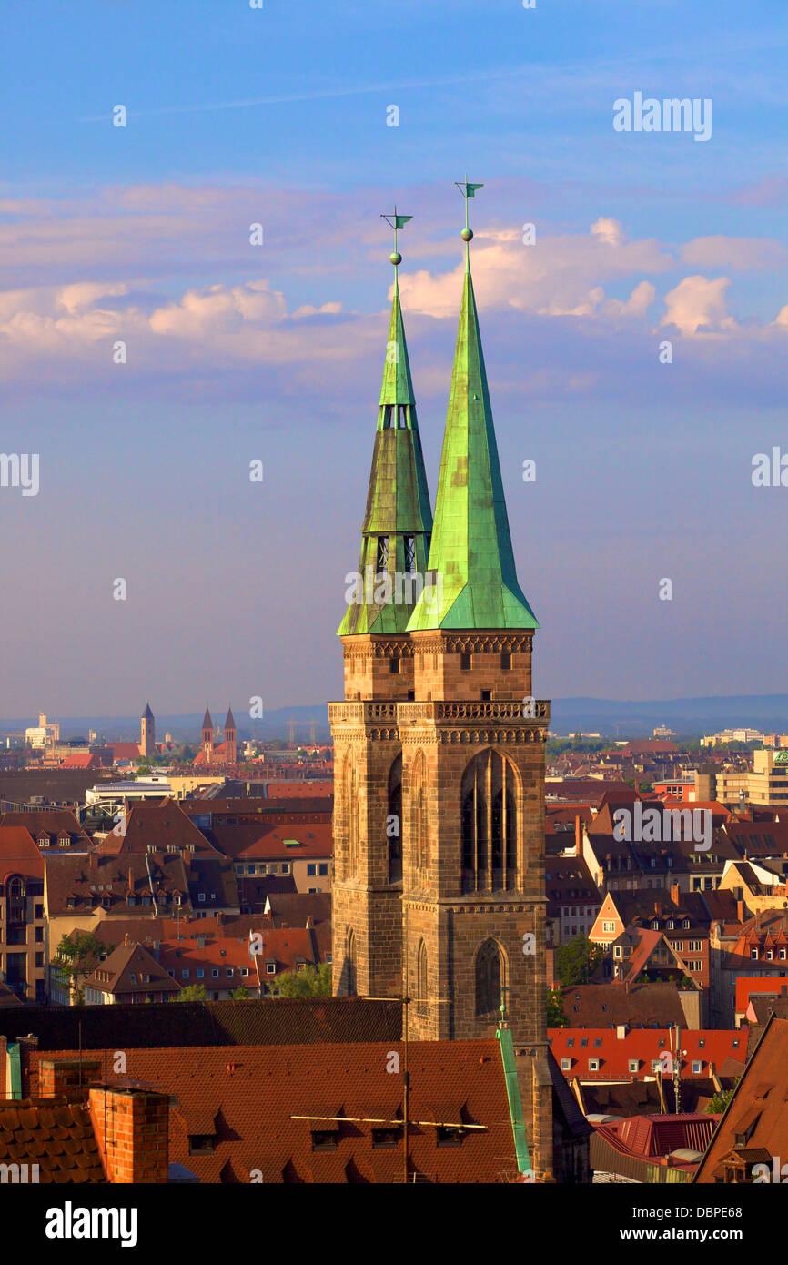 Nürnberg, Bayern, Deutschland, Europa Stockbild