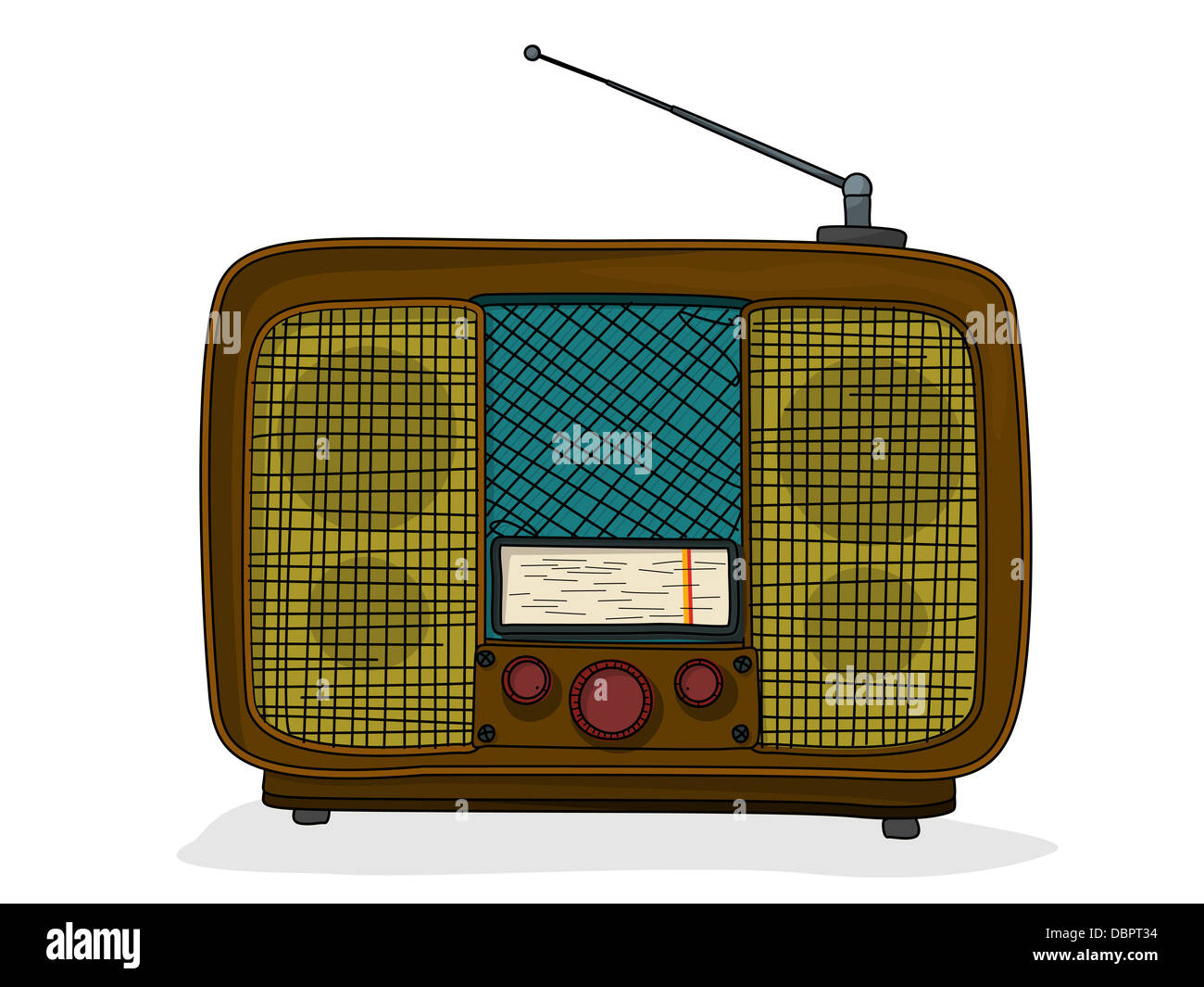Radio Zeichnung