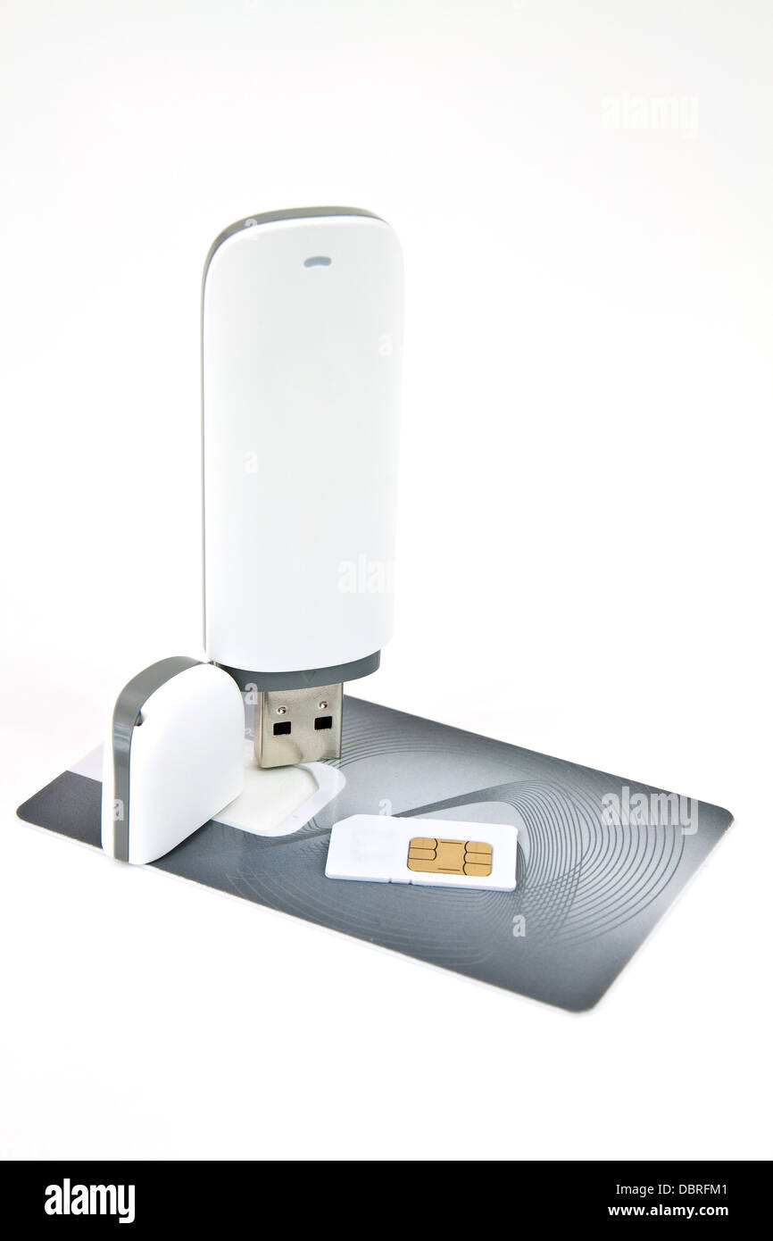 Wireless Modem Card Stockfotos & Wireless Modem Card Bilder - Alamy