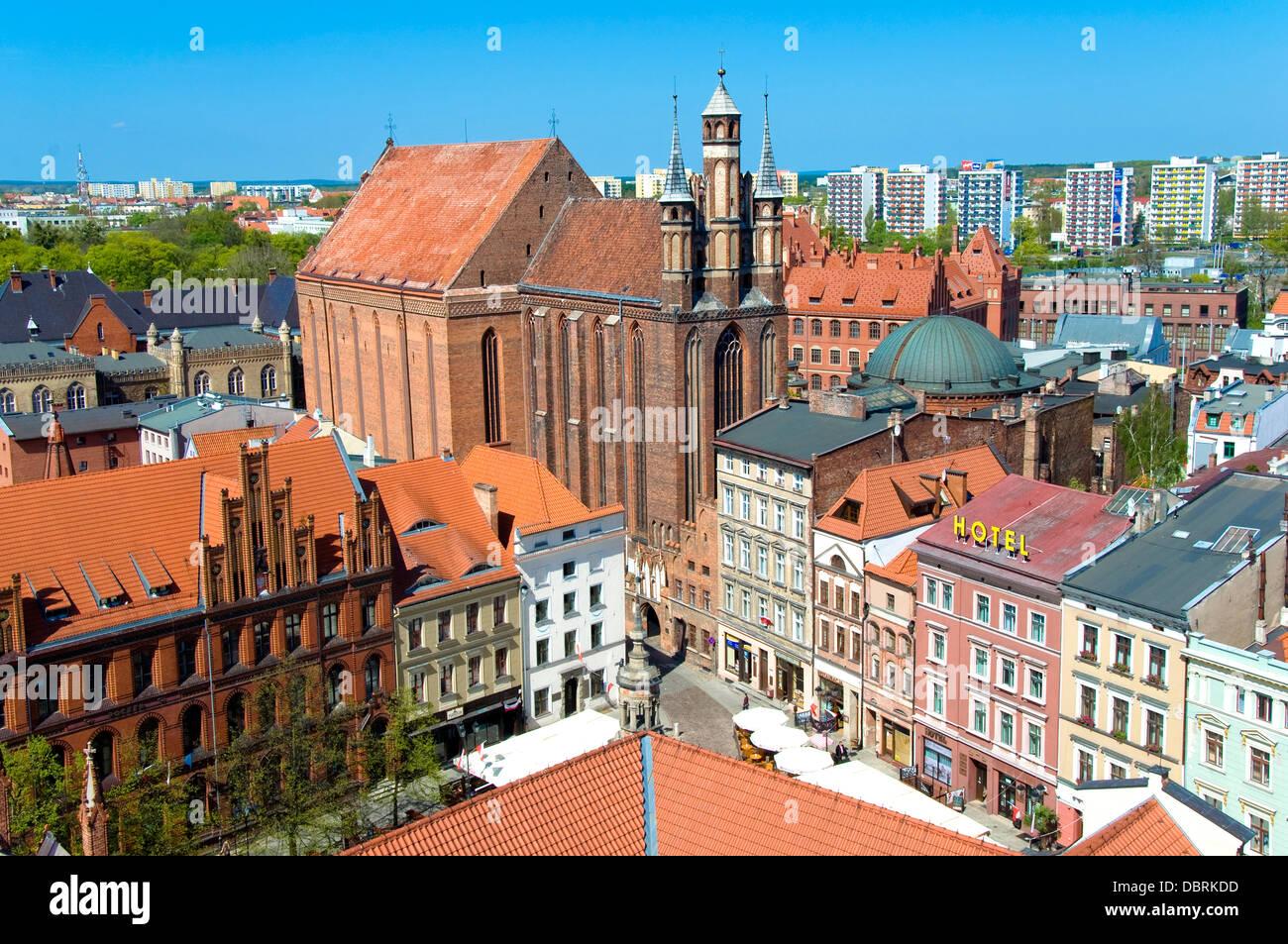 St. Marien Kirche, Torun, Polen Stockfoto, Bild: 58912489