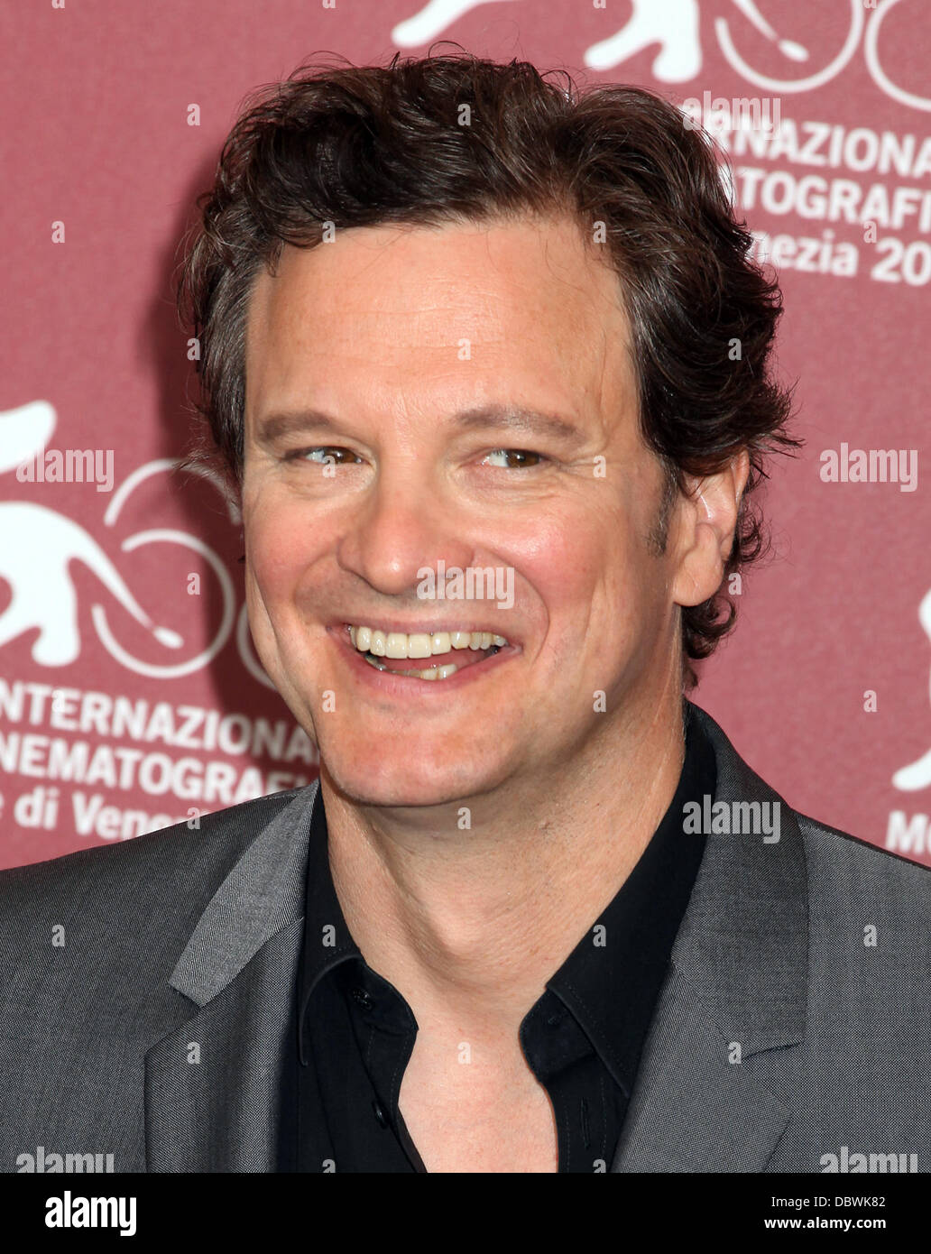 Colin Firth der 68. Venedig Film Festival - Tag 6 - Tinker, Tailor, Soldier, Spy - Photocall Venedig, Italien - Stockbild