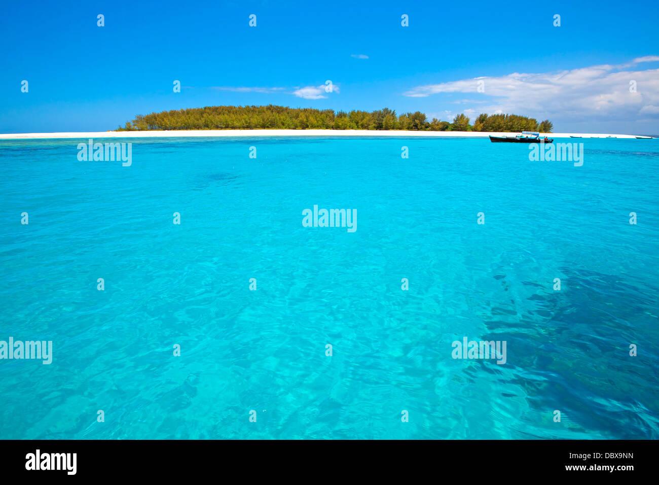 Zanzibar beach Stockbild