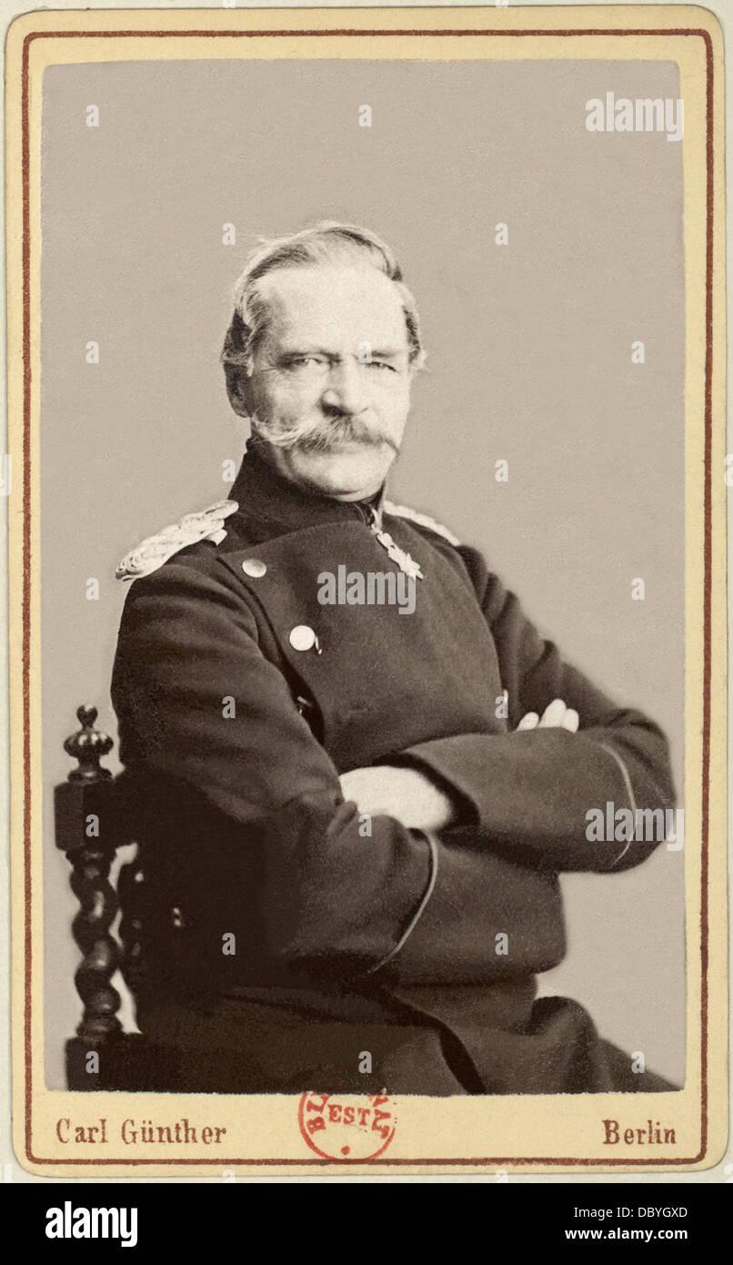 Albrecht von Roon (1803 ? 1879), Generalfeldmarschall, preußischer Kriegsminister zwischen 1859 & 1873, Stockbild
