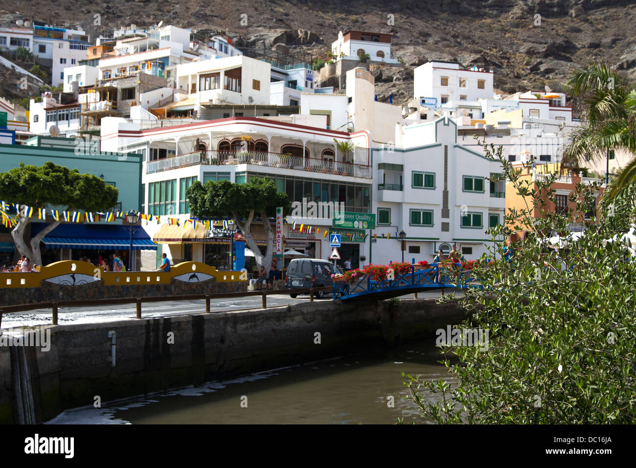 Puerto De Mogan Stockbild