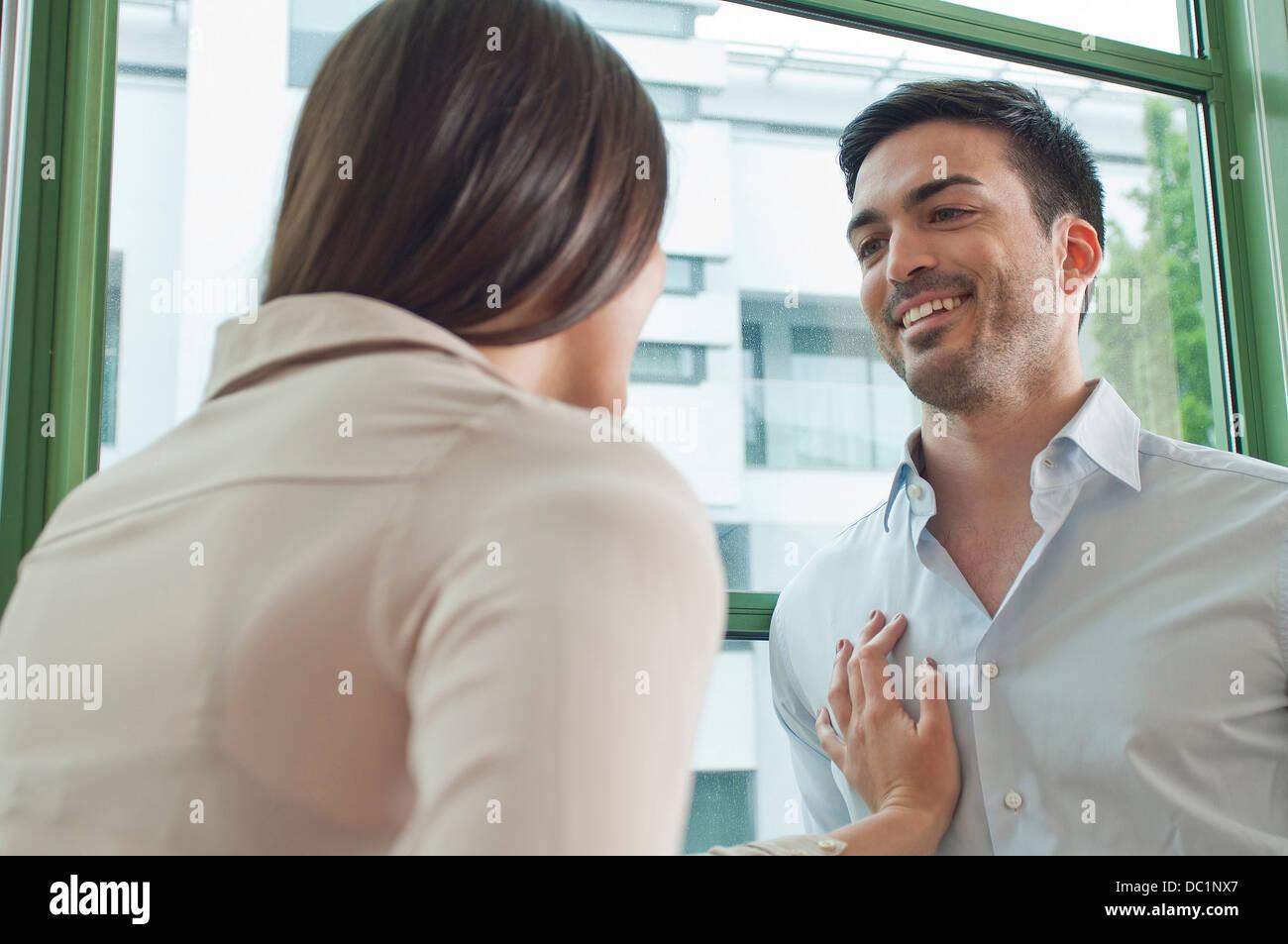 Flirten im büro