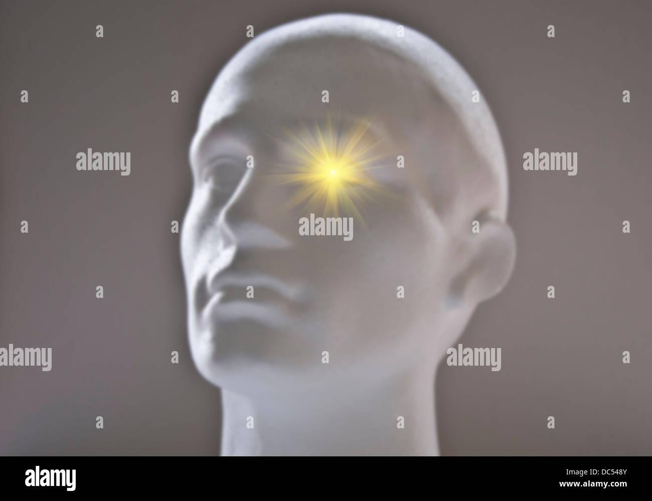 Bright Ideas Stockbild