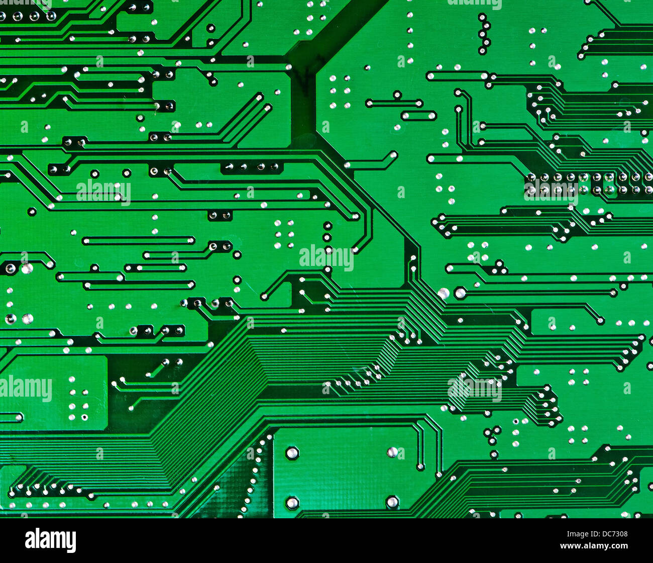 Platine Makro als Technik-Hintergrund Stockbild