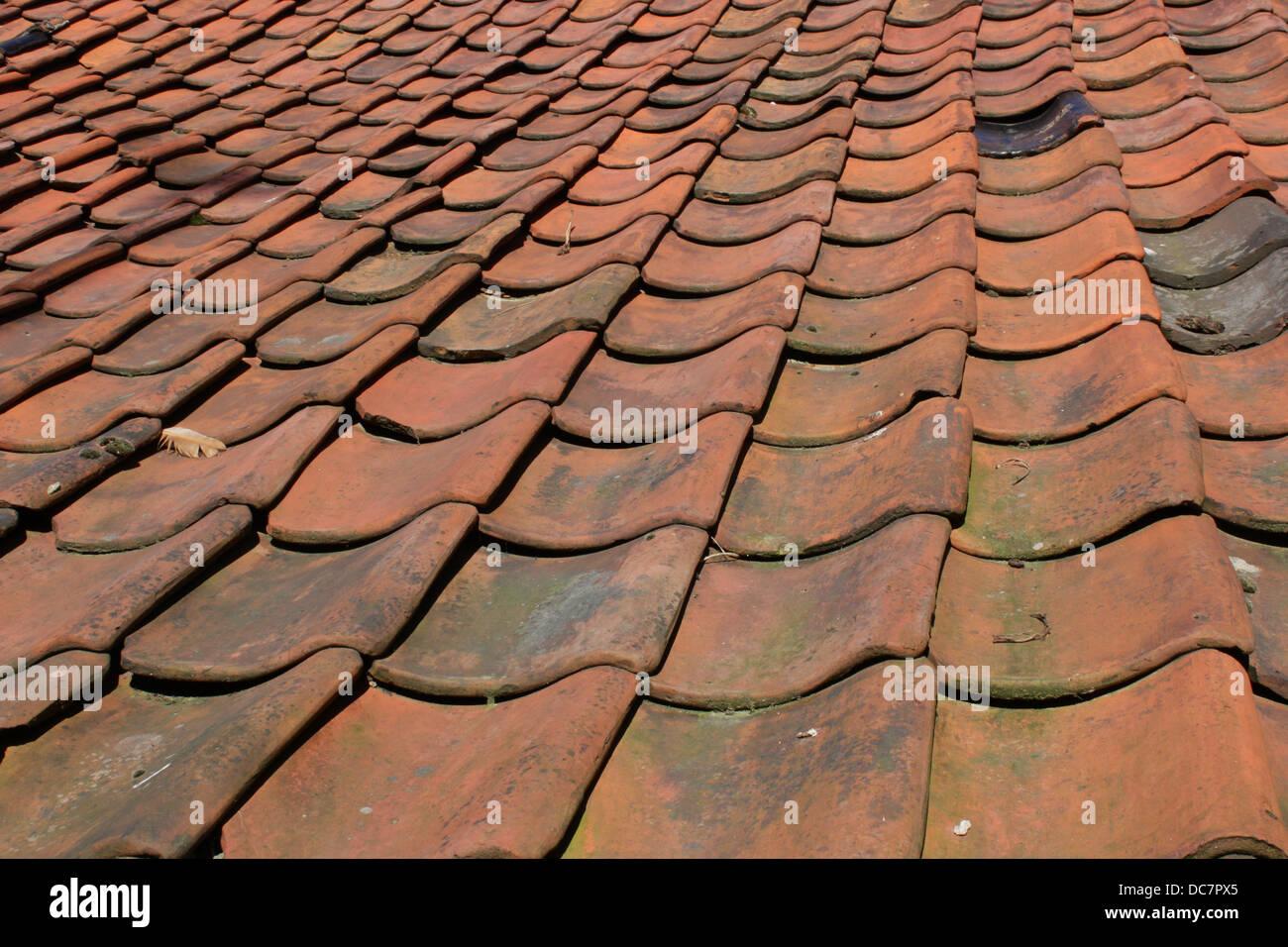 red roof tiles stockfotos red roof tiles bilder alamy. Black Bedroom Furniture Sets. Home Design Ideas