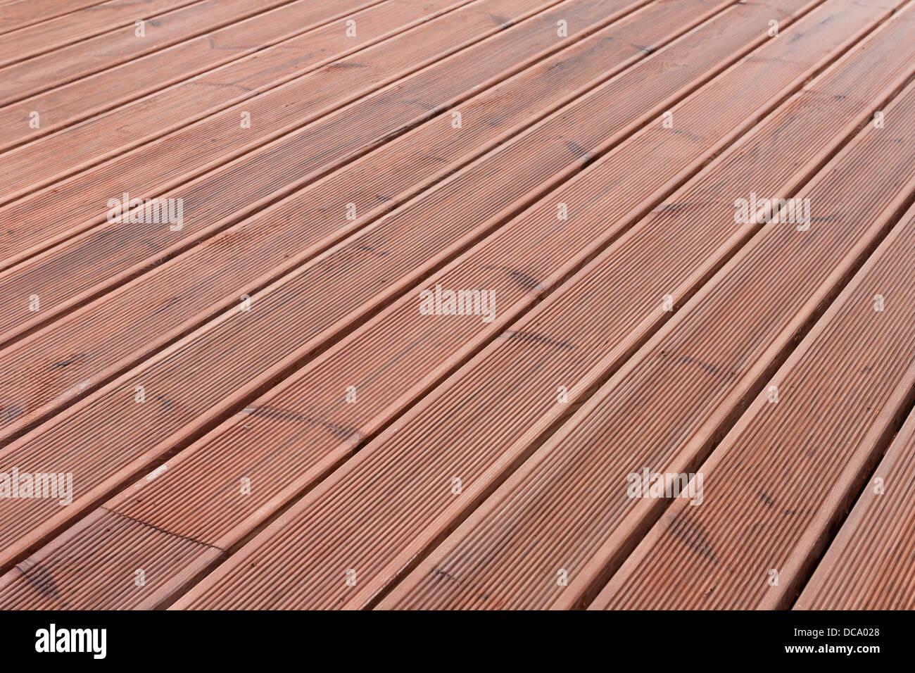 Nasses Holz Terrasse Boden Hintergrundtextur Stockfoto Bild