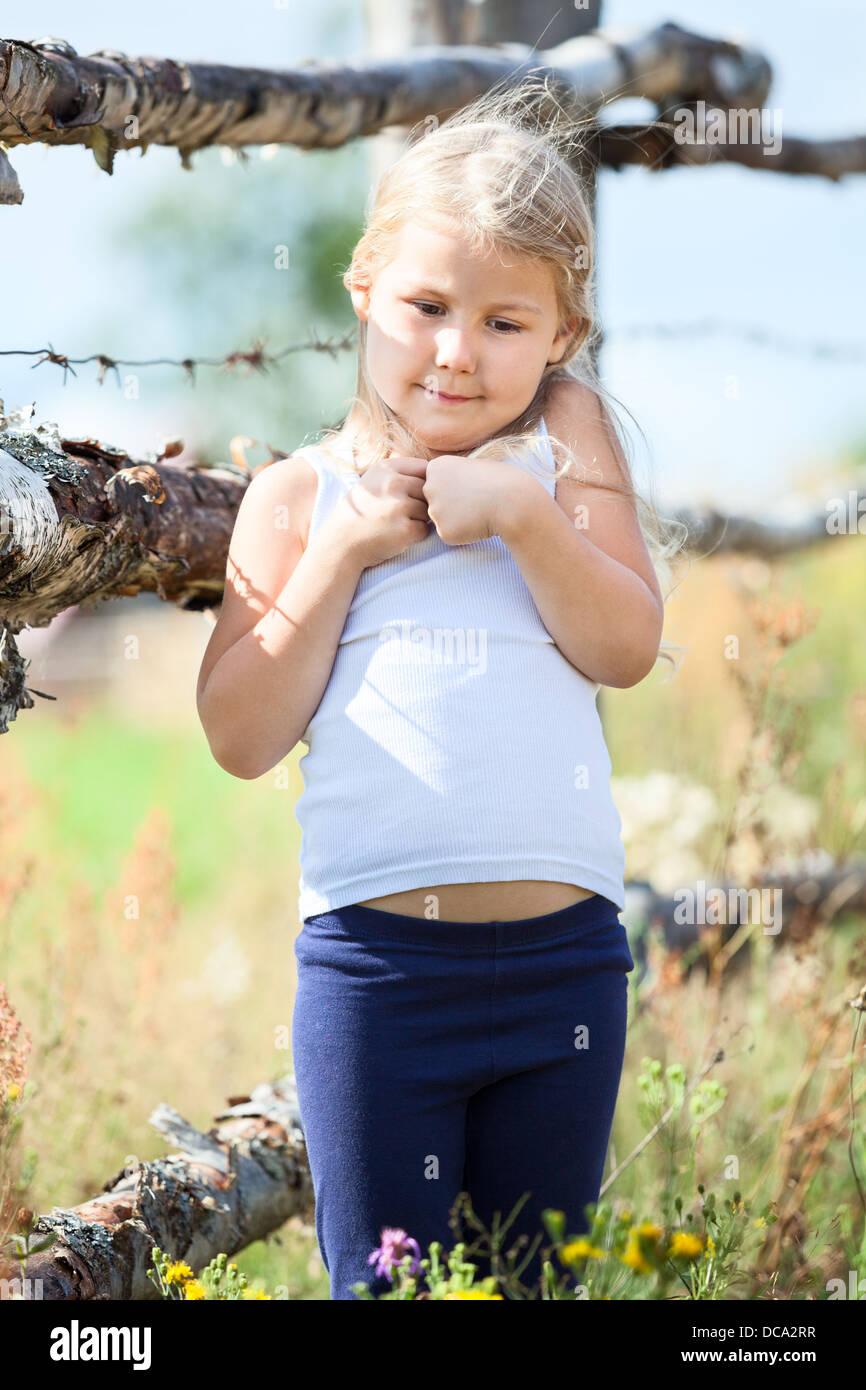 Russland Land Mädchen