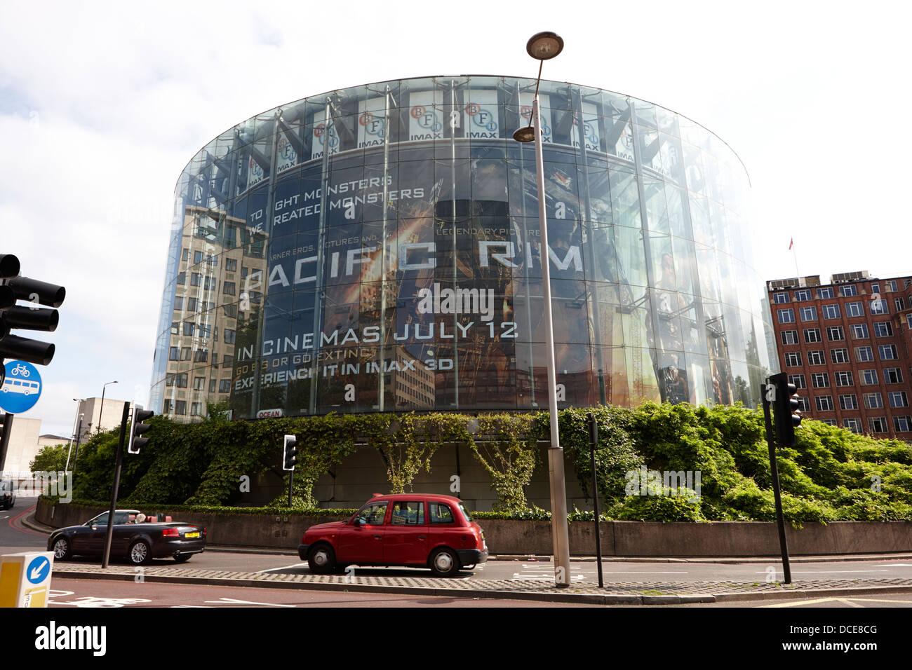 BFI Imax Kino London England UK Stockbild