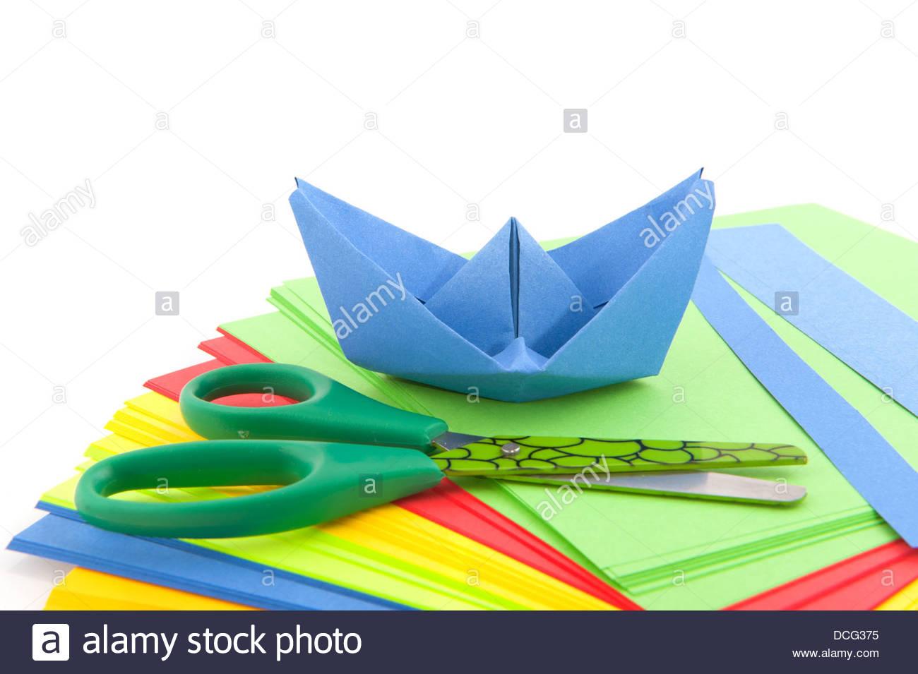 papierschiff basteln