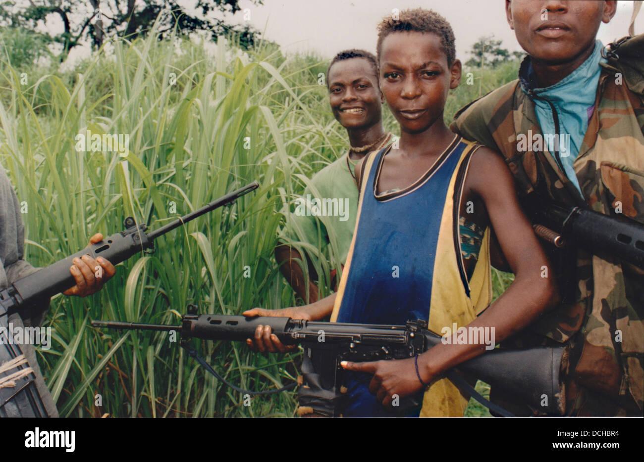 Kindersoldaten Sierra Leone