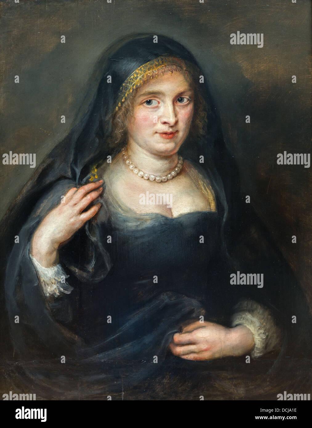 17 Jahrhundert Bild Architektur: Porträt Einer Frau, Vermutlich Susanna