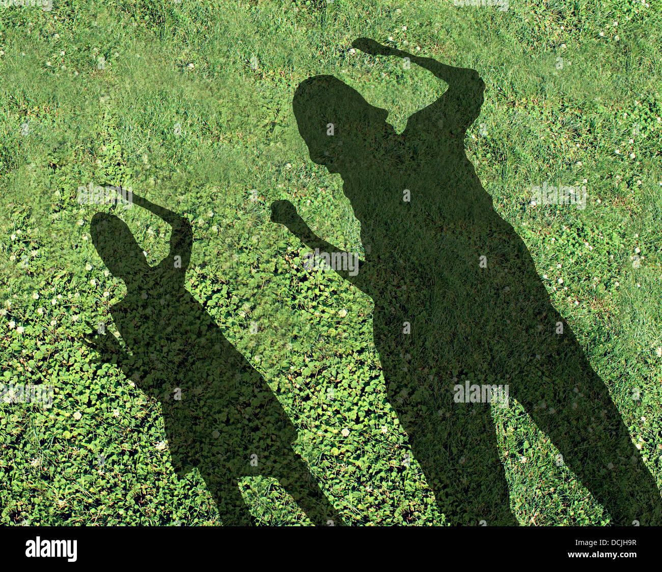 Wanderung Auf Dem Höhenweg Und Durchs: Mobbing, Kinder Und Bully Schulkonzept Mit Den Schatten