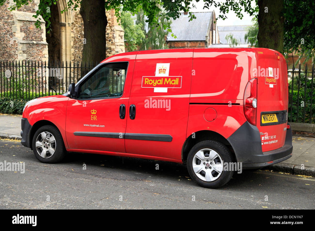 Royal Mail van, Fahrzeug, England, UK, Fahrzeuge Transporter Transport Stockbild