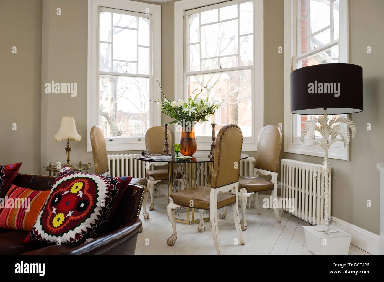 Blickfang Esstisch Wohnzimmer Ideen Von Glasplatte Mit Stühlen Von Birgit Israel Bei