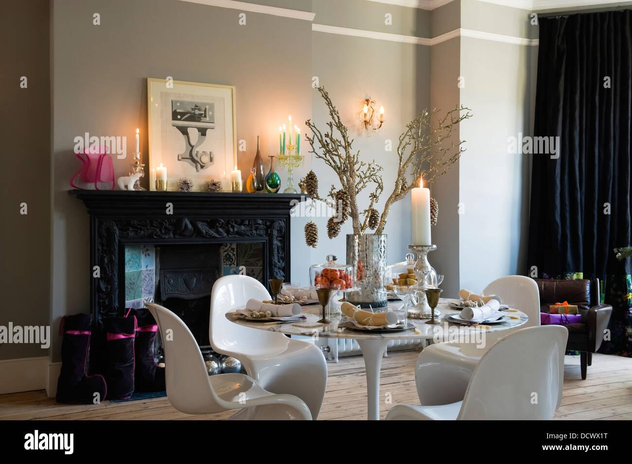 Victorian dining room stockfotos victorian dining room - Esszimmer englisch ...