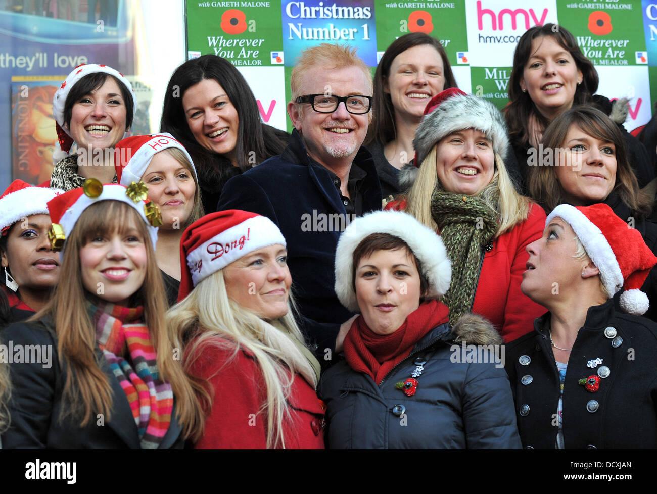 Chris Evans Members Military Wives Stockfotos & Chris Evans Members ...