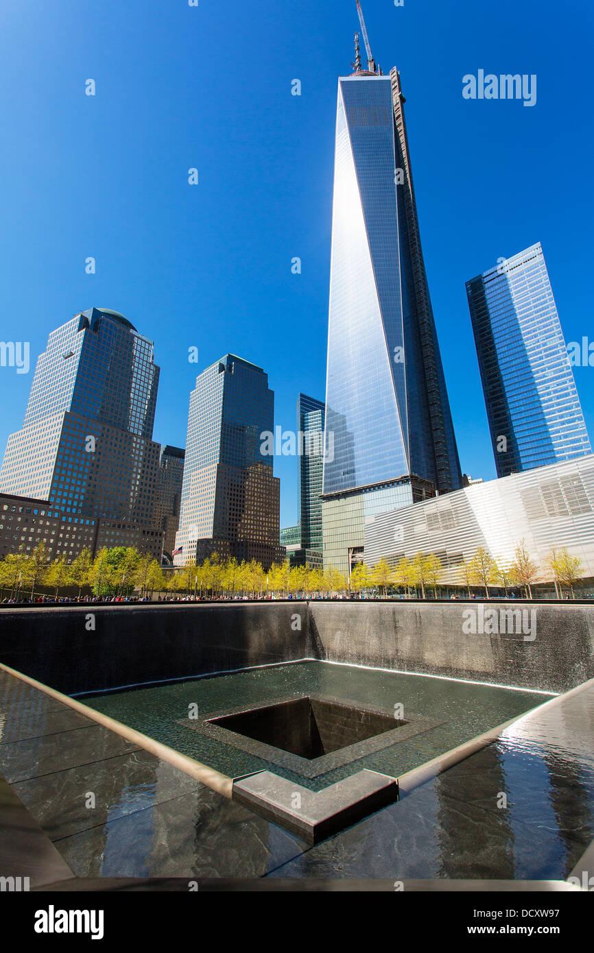 New York City Ground Zero Stockbild