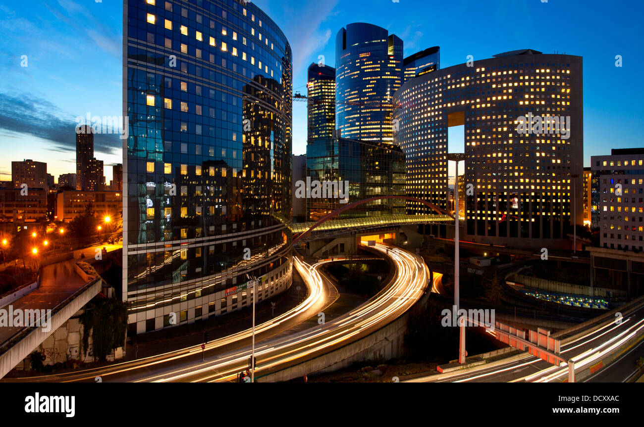 Paris, La Défense Stockbild
