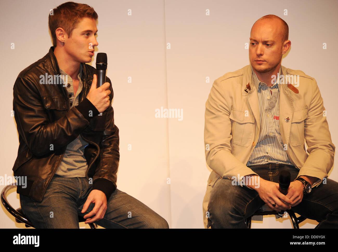 Paul di Resta Autosport International Show statt in der NEC Birmingham-Birmingham, England - 15.01.12 Stockbild