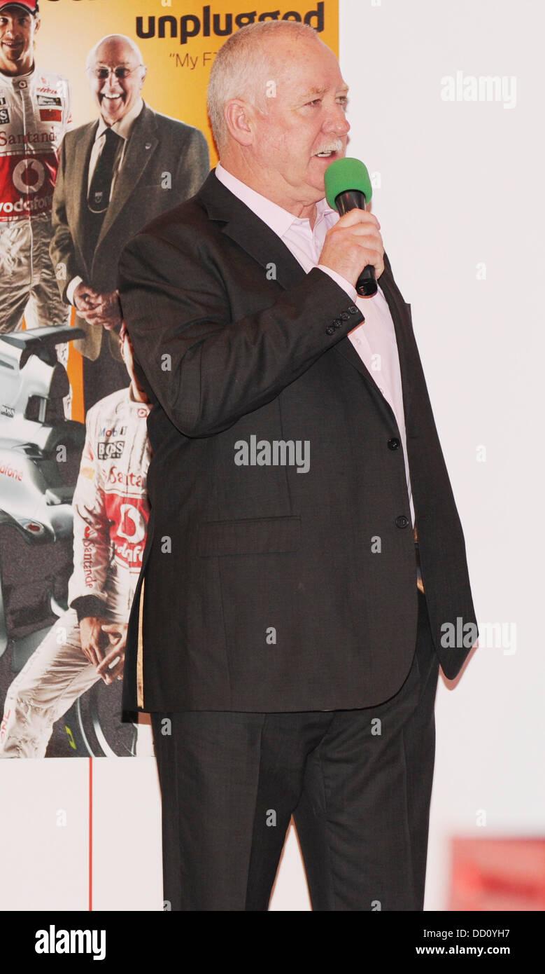 Terry Fullerton Autosport International Show statt in der NEC Birmingham-Birmingham, England - 15.01.12 Stockbild