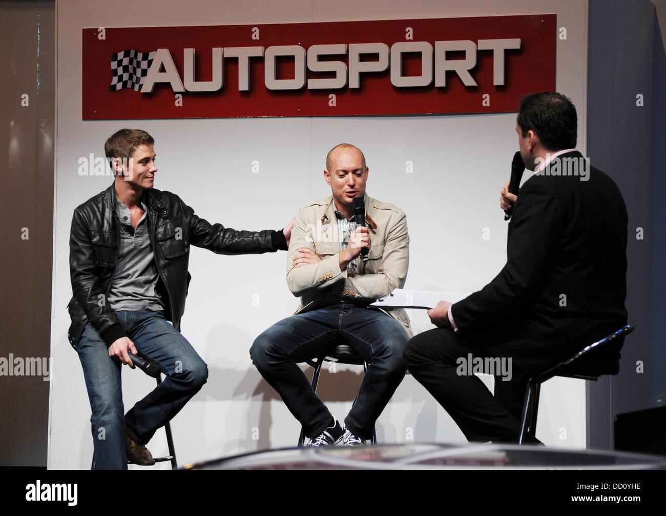 Anthony Davidson Autosport International Show statt in der NEC Birmingham-Birmingham, England - 15.01.12 Stockbild