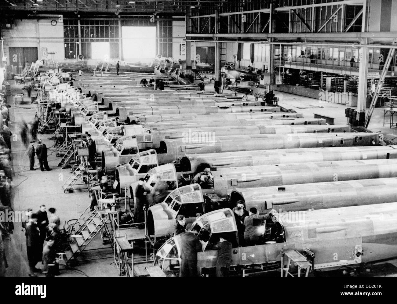 junkers aircraft factory stockfotos junkers aircraft factory bilder alamy. Black Bedroom Furniture Sets. Home Design Ideas