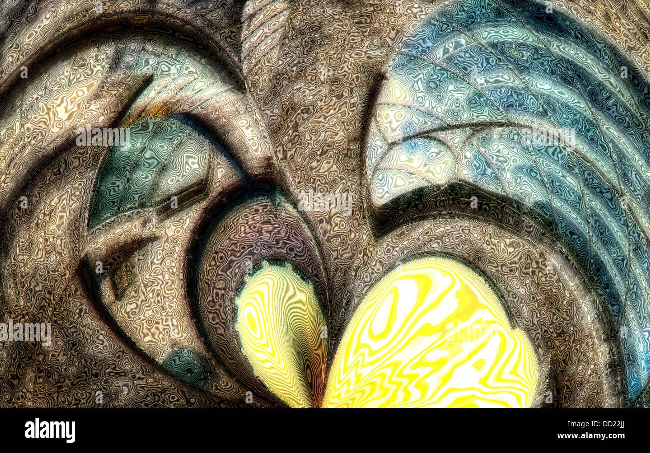 Abstrakte Träume Stockbild