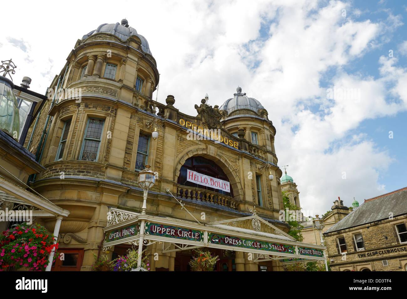 Buxton Opera House Fassade UK Stockbild