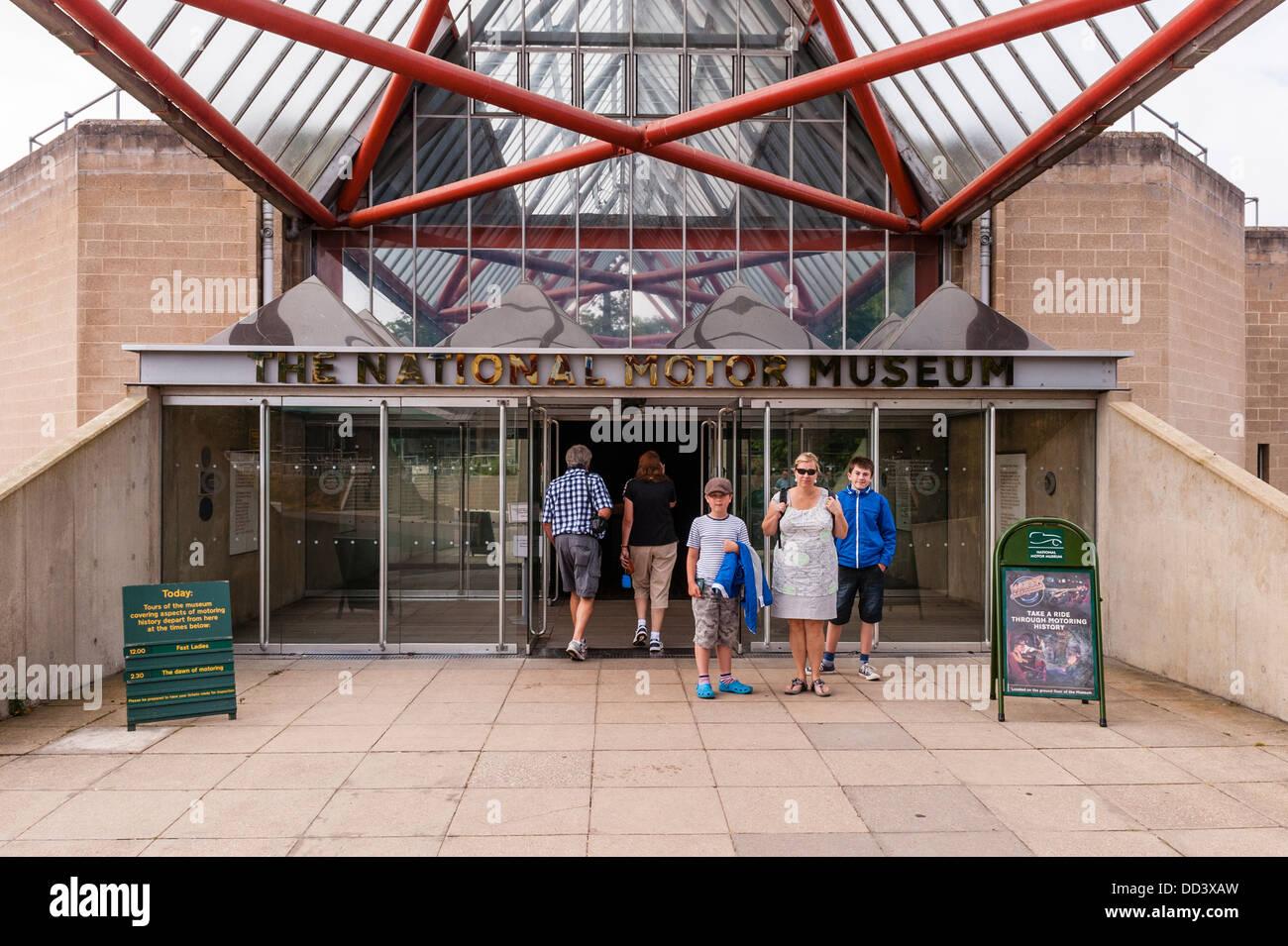Das National Motor Museum in Beaulieu in Beaulieu, Hampshire, England, Großbritannien, Uk Stockbild