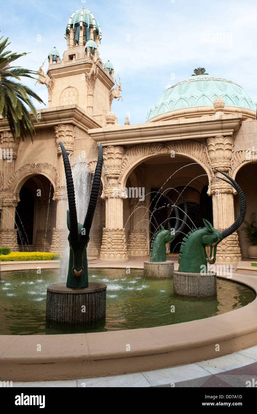 Der Palace of the Lost City, Sun City, Südafrika Stockbild