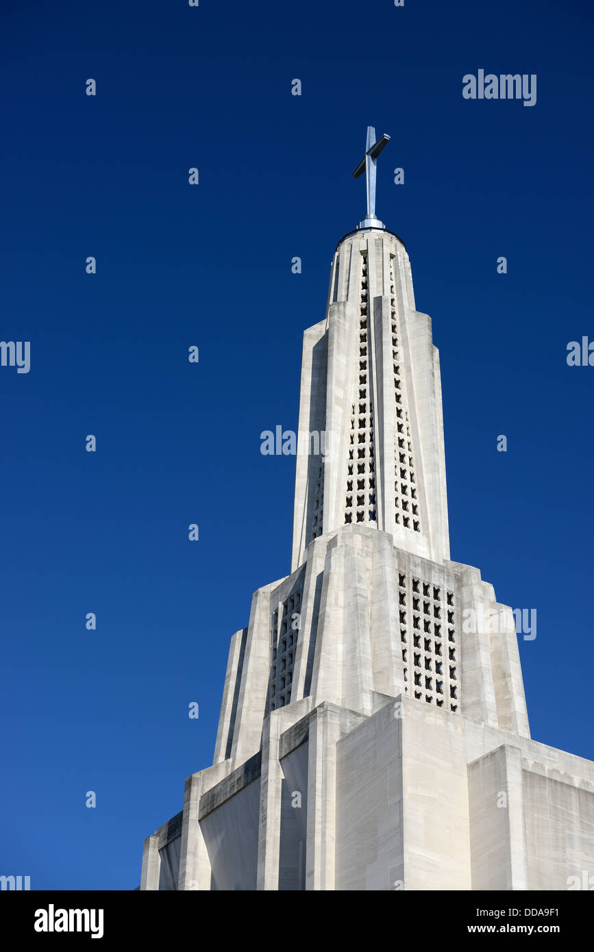 Kathedrale von St. Joseph in Hartford, Connecticut. Stockbild